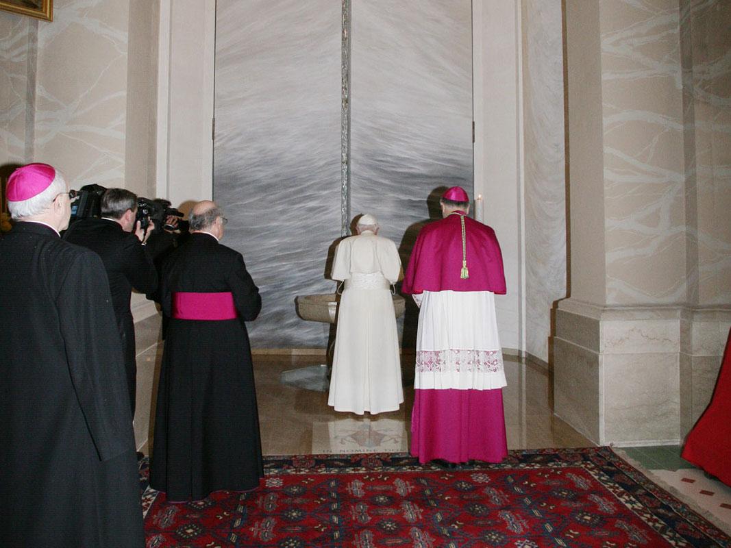 Papa Benedetto XVI a Concesio