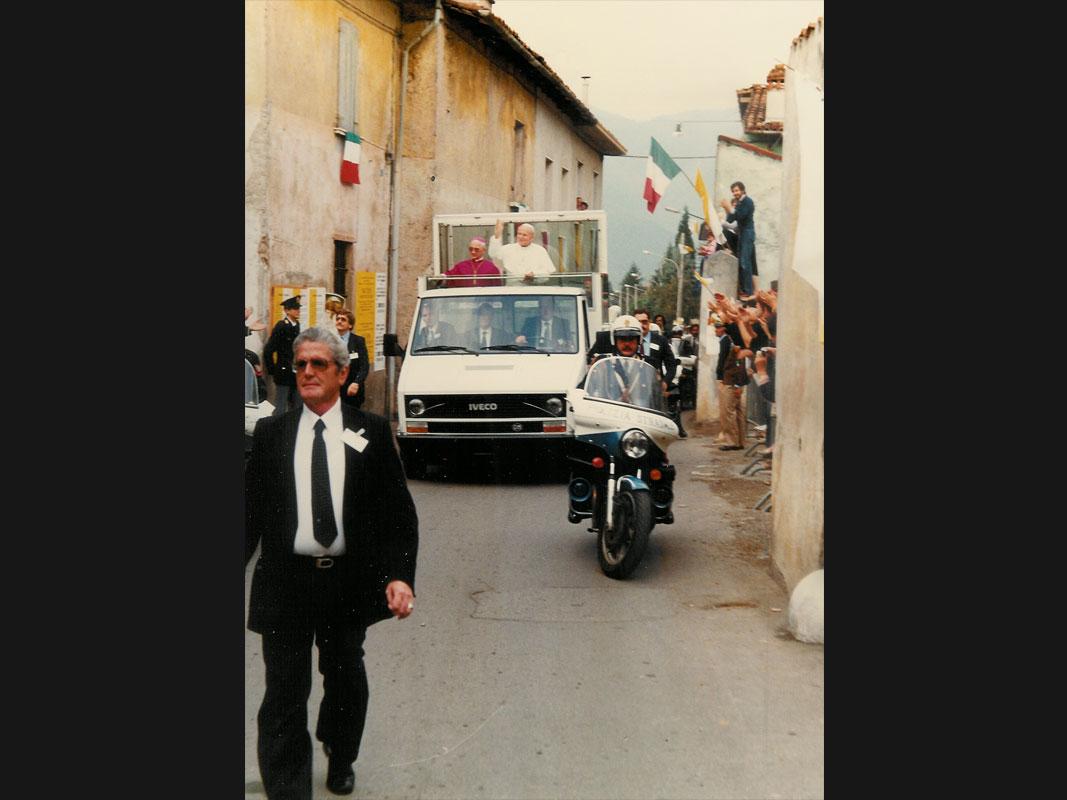 Papa Giovanni Paolo II a Concesio