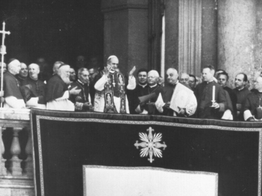 Papa Paolo VI - Elezione (1)